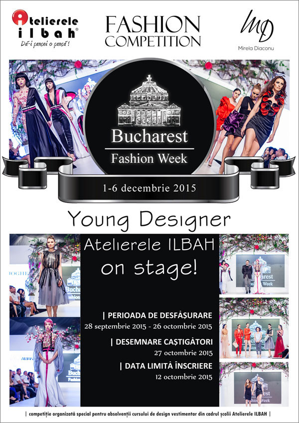 afis-Bucharest-Fashion-Week-young-designer-competition-Atelierele-ILBAH-2