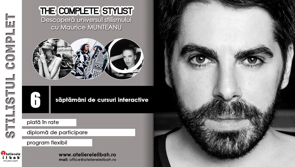 Curs-Stilism-Cursuri-de-Stilist-despre-stil-cu-Maurice-Munteanu-the-complete-stylist-atelierele-ilbah-cover