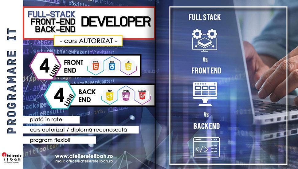 Curs Programare IT | Full-Stack Developer: Front-End & Back-End