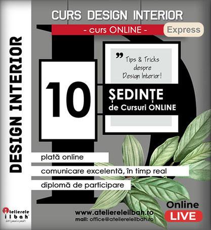 Curs Design Interior Express Online LIVE