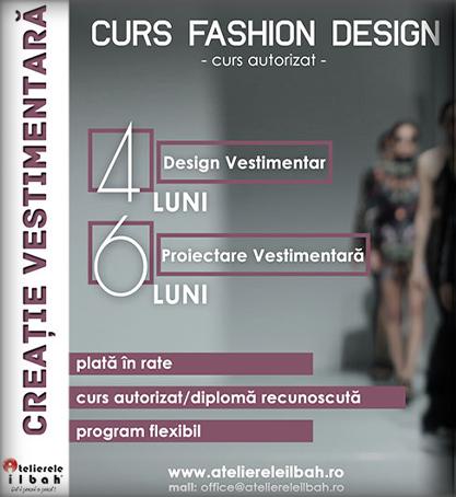 Curs Design Vestimentar (Creatie Vestimentara)