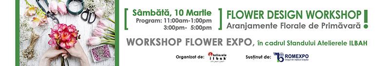 Workshop-Design-Floral-Atelier-gratuit-aranjamente-florale-de-primavara-romexpo-atelierele-ilbah-banner